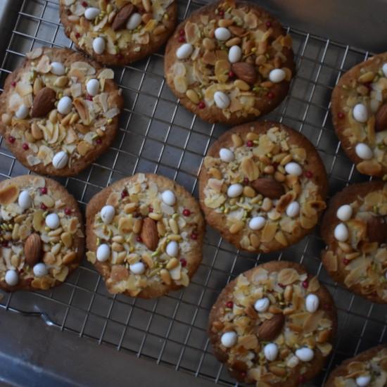 BFougasse monégasque cookies