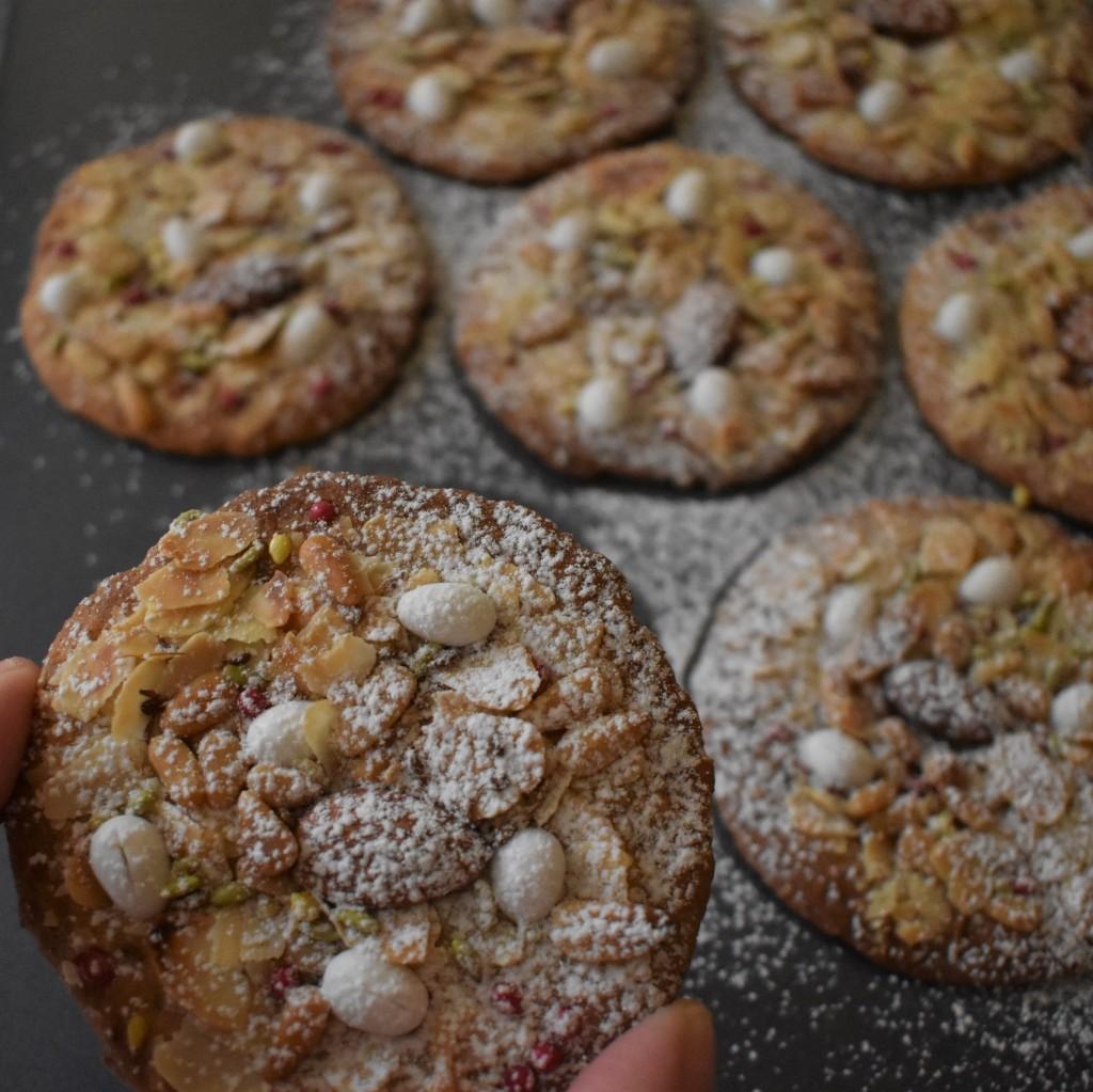 Fougasse monégasque cookies
