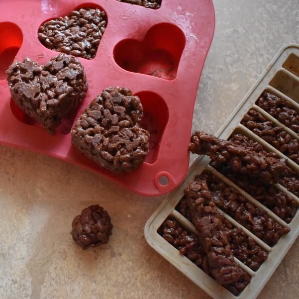 Cocoa rice krispie treats