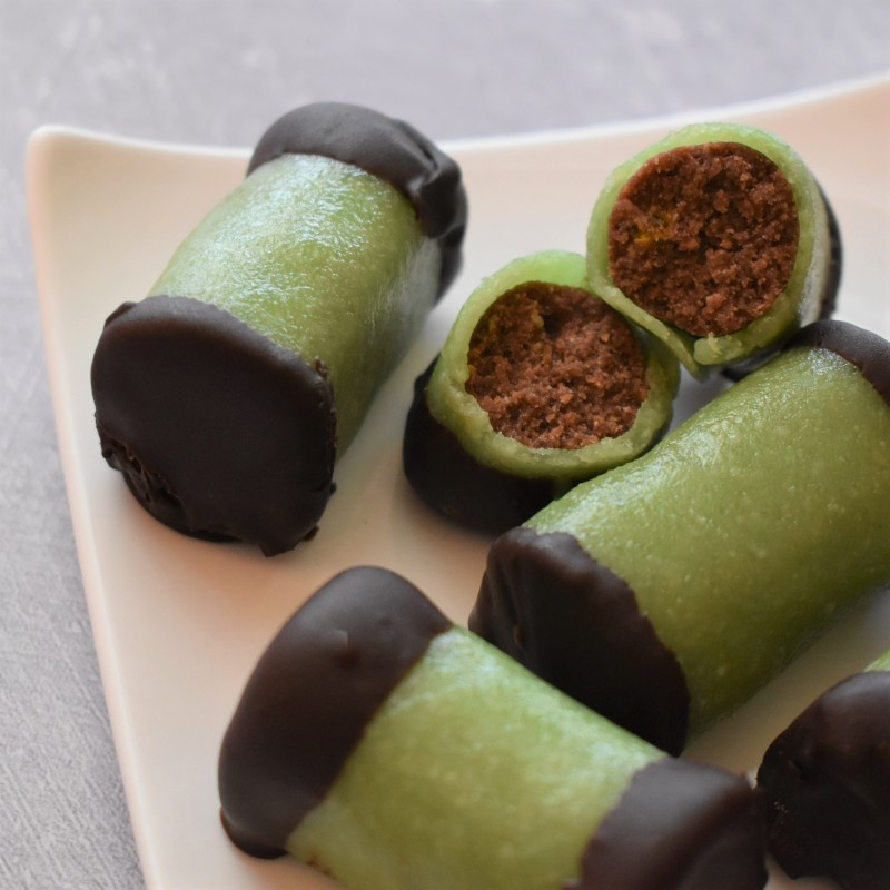 Vacuum cleaner cakes, Swedish dammsugare or punsch-rolls